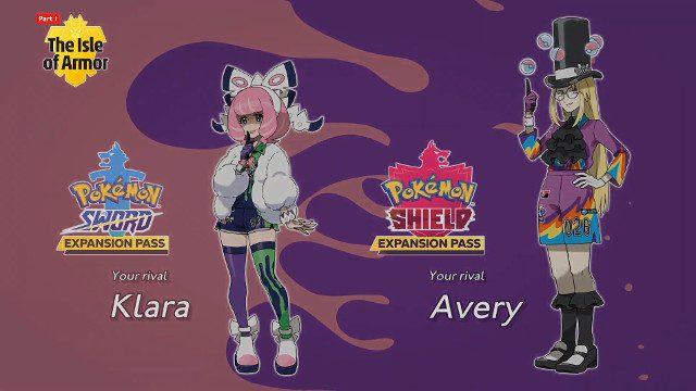 Pokemon Sword and Shield Expansion Pass Klara Avery