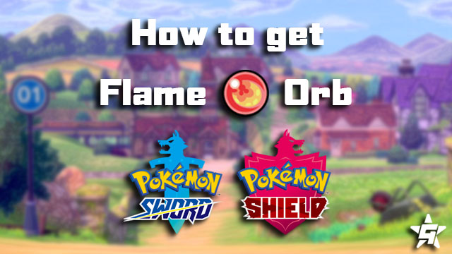 Pokemon Sword and Shield Flame Orb