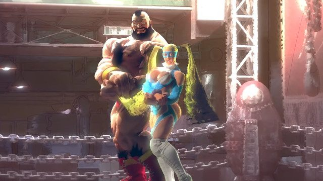 Street Fighter 5 netcode Zangief R. Mika