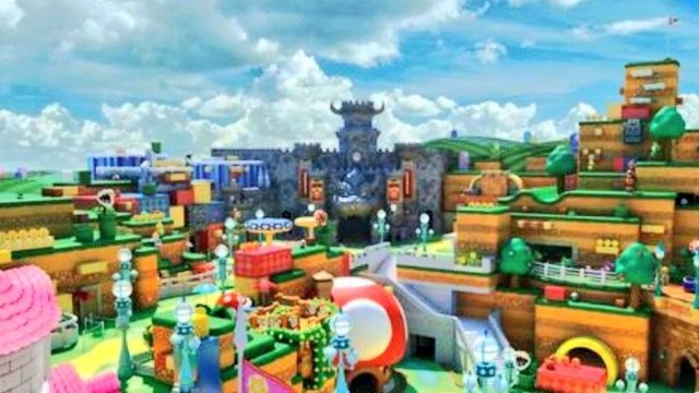 Super Nintendo World Opening