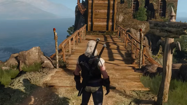 The Witcher 3 search the ruins of the fortress by the lighthouse