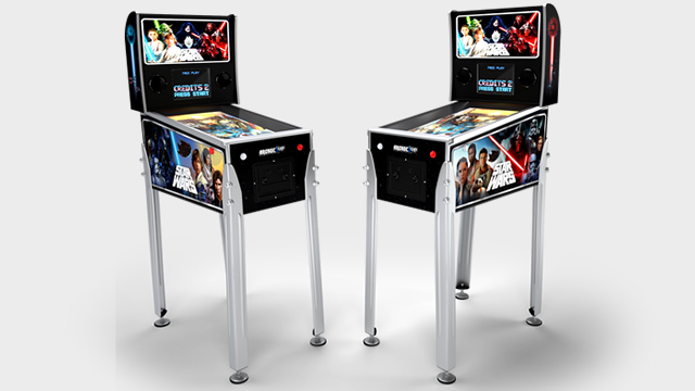 arcade1up pinball machine virtual cabinet