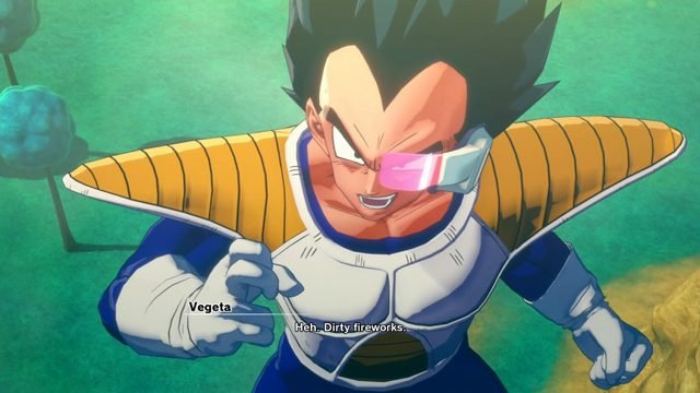 how to play as Vegeta in Dragon Ball Z Kakarot