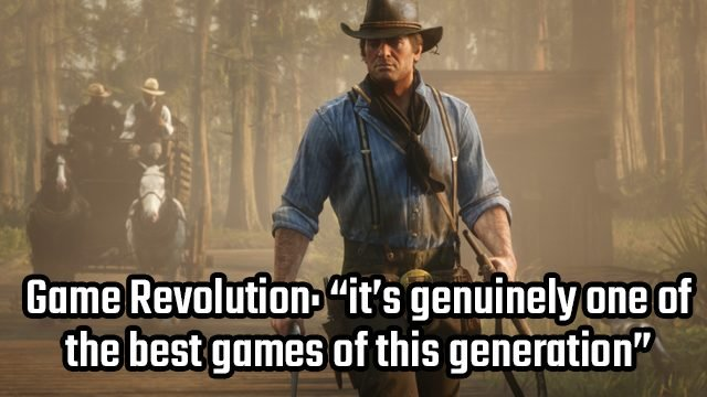 rdr2 games of the decade