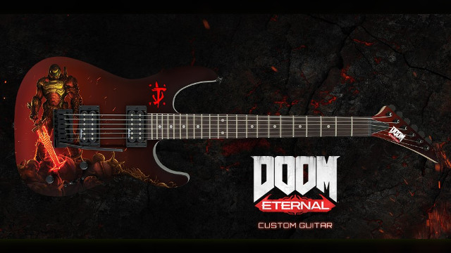 Doom Eternal Guitar Giveaway cover