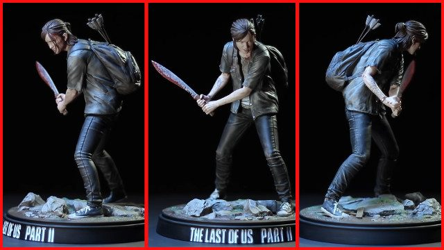 New The Last of Us Part 2 demo new Ellie statue Dark Horse