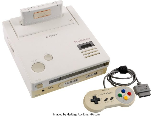 Nintendo PlayStation Auction Heritage
