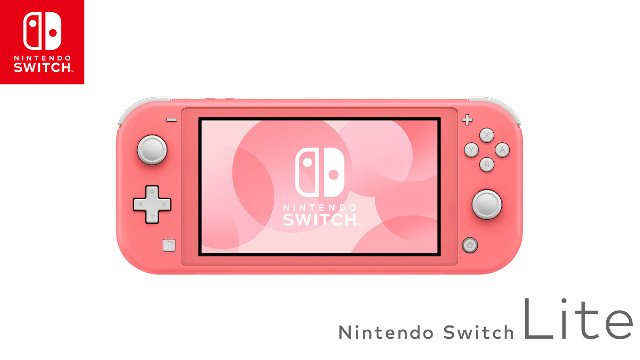 Pink Nintendo Switch Lite cover