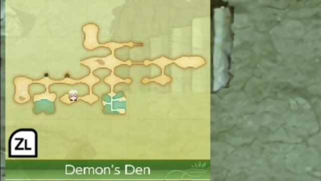 Rune Factory 4 Dungeon Seed Locations Demon's Den