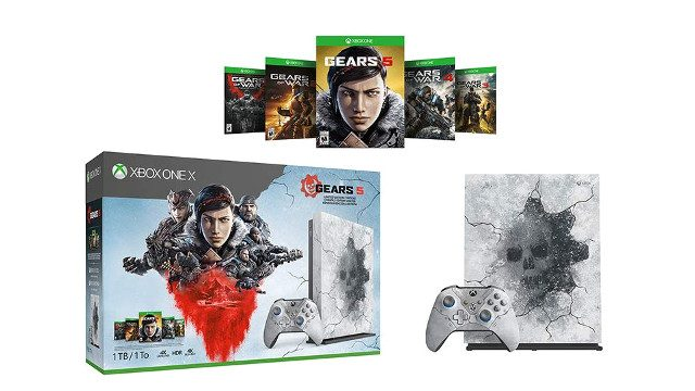 Xbox One X Price Drop Gears 5 LE X