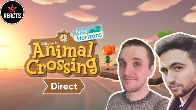 gr reacts animal crossing new horizons direct