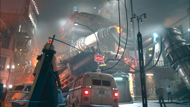 Final Fantasy 7 Hands On Preview Sector 1 Damage