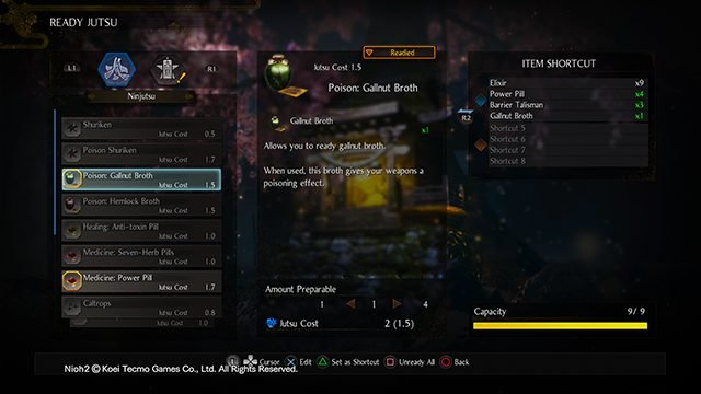 Nioh 2 Beginner's Tip Guide