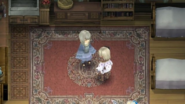 Rune Factory 4 Clothing Shop Interior