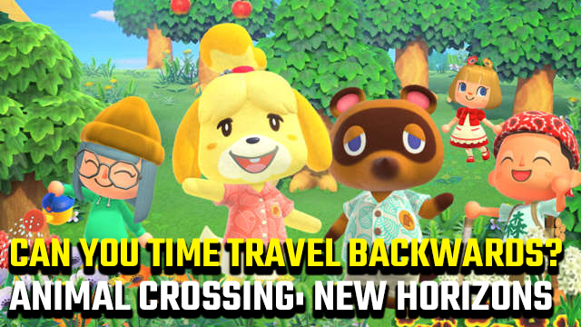 animal crossing new horizons time travel backwards