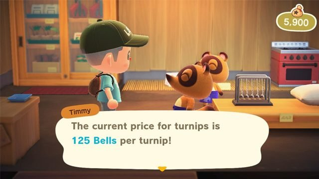 animal crossing new horizons turnip prices today stalk market