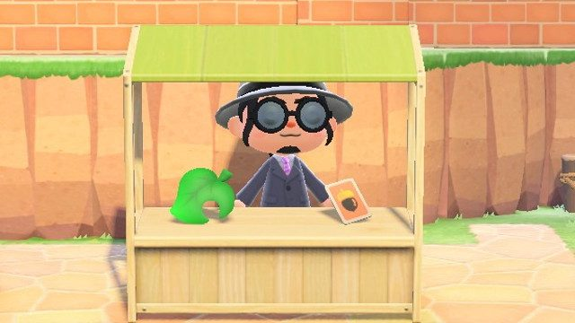 Animal Crossing trading stall