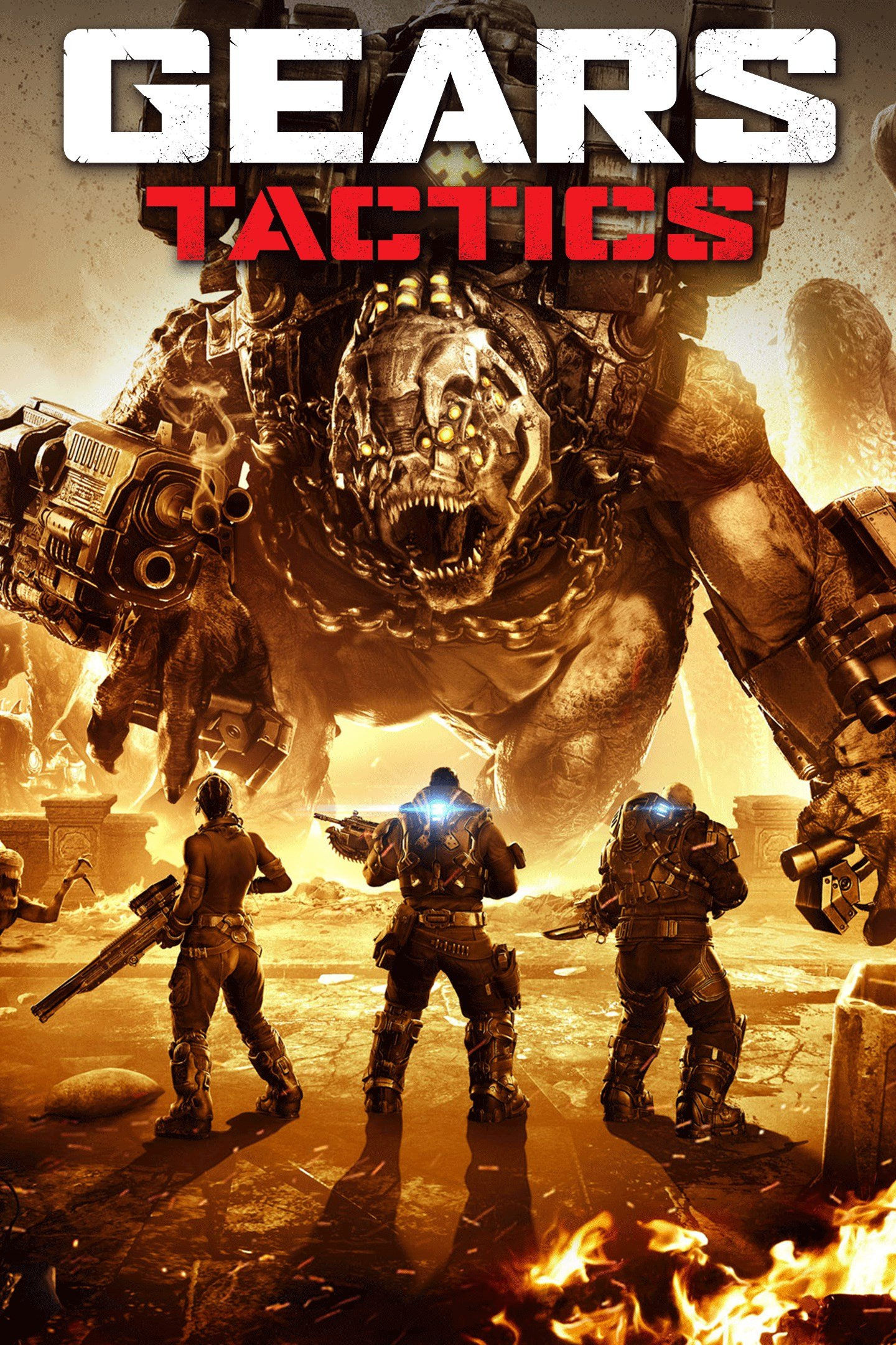 Box art - Gears Tactics