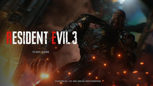 Resident Evil 3 remake New Game Plus
