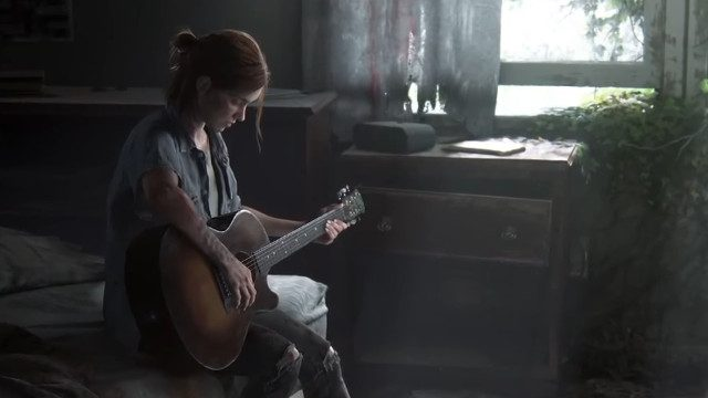 The Last of Us 2 digital early release guitar