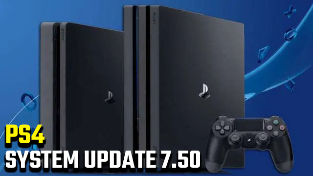 ps4 system update 7.50