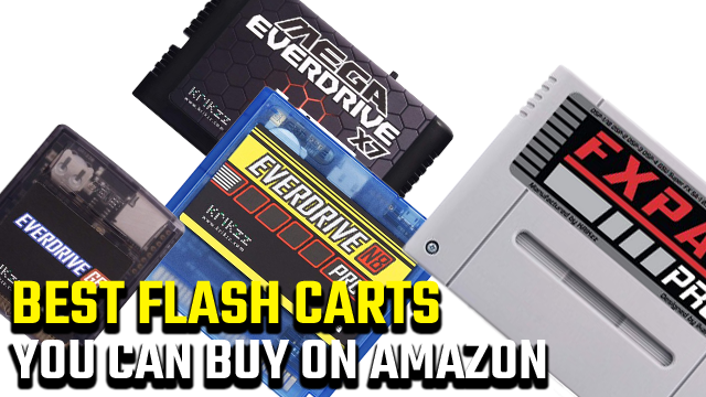 Best Flash Carts you can buy on Amazon