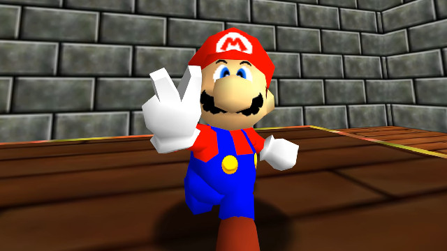 Fan-made Super Mario 64 PC port