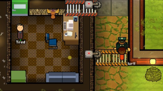 Prison Architect Island Bound expansion Cleared For Transfer DLC office
