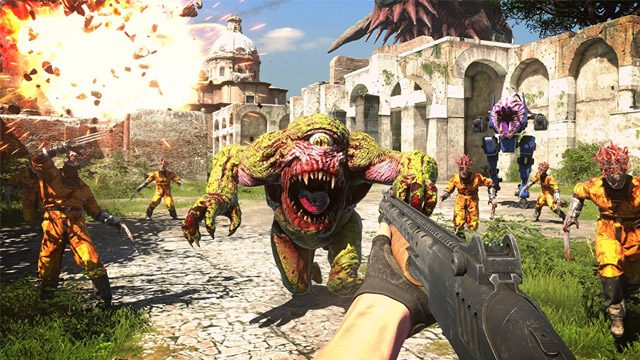 Serious Sam 4 Nintendo Switch
