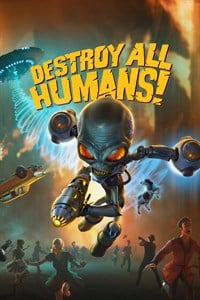 Box art - Destroy All Humans!