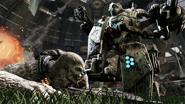 Gears of War 3 PS3 footage allegedly shows up online