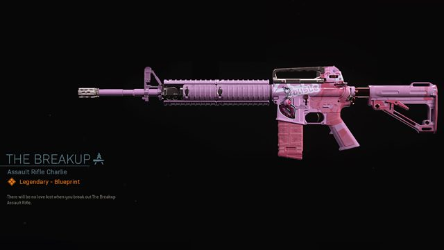 how to get the breakup m4a1 in call of duty warzone