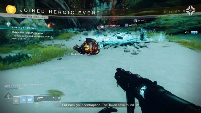 Destiny 2 Contact Heroic Event Joined