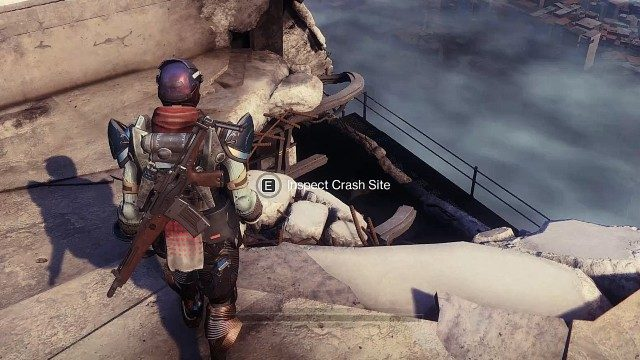Destiny 2 Seraph's Wings Emblem Inspect Crash Site