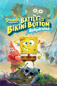 Box art - Spongebob Squarepants: Battle for Bikini Bottom Rehydrated