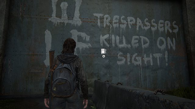 The Last of Us 2 Journal Entry Locations | Seattle Day 1 | The Gate