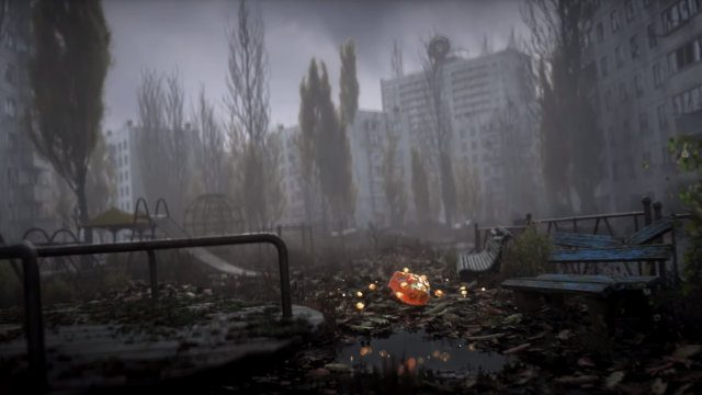 S.T.A.L.K.E.R. 2 reveal trailer anomaly