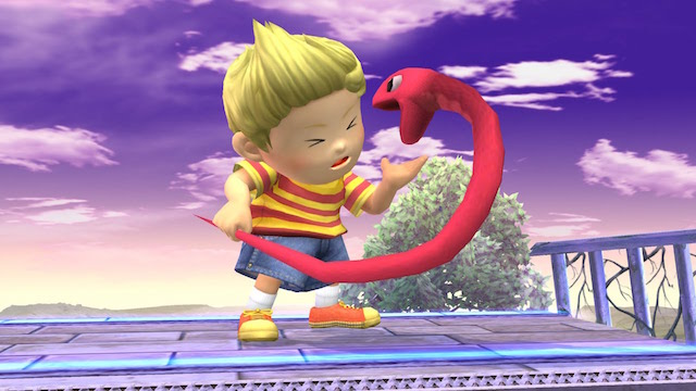 Lucas Is Coming to Super Smash Bros. 3DS and Wii U