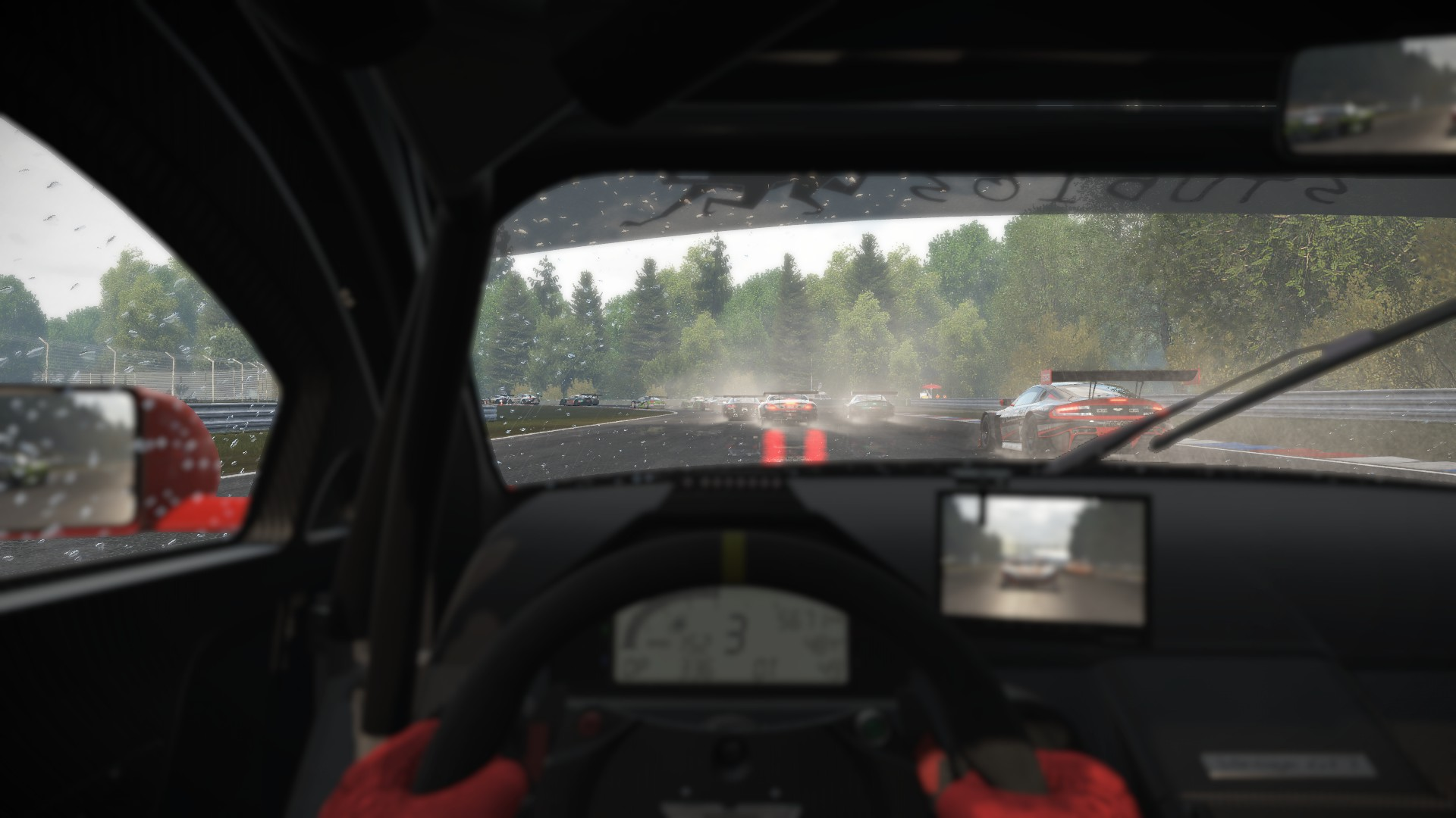 It\'s an authentic racing experience
