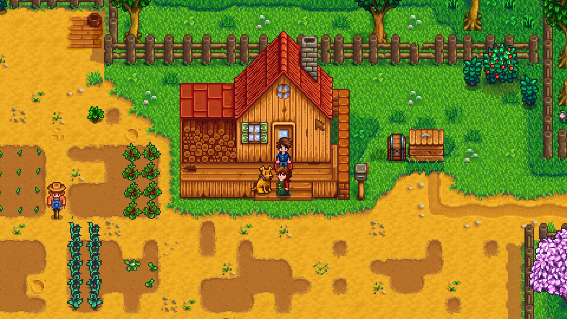 Dog house of green valley - Use The Pickaxe To Clear Tilled Soil And Crafted Items