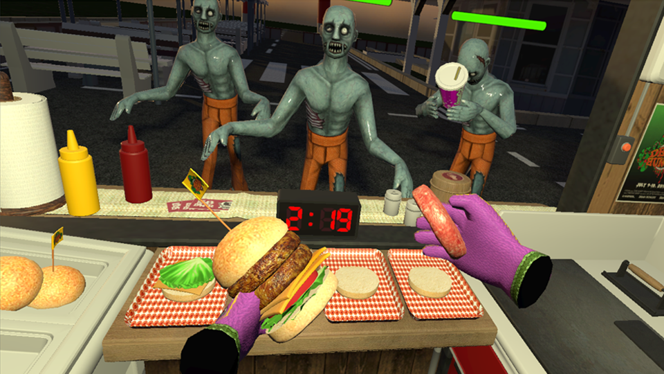 Dead Hungry (PC with HTC Vive)