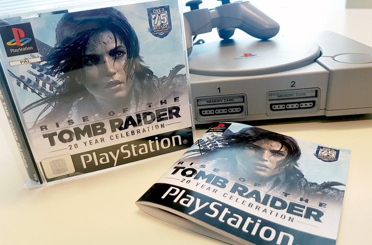 Rise of the Tomb Raider: 20 Year Celebration Throwback