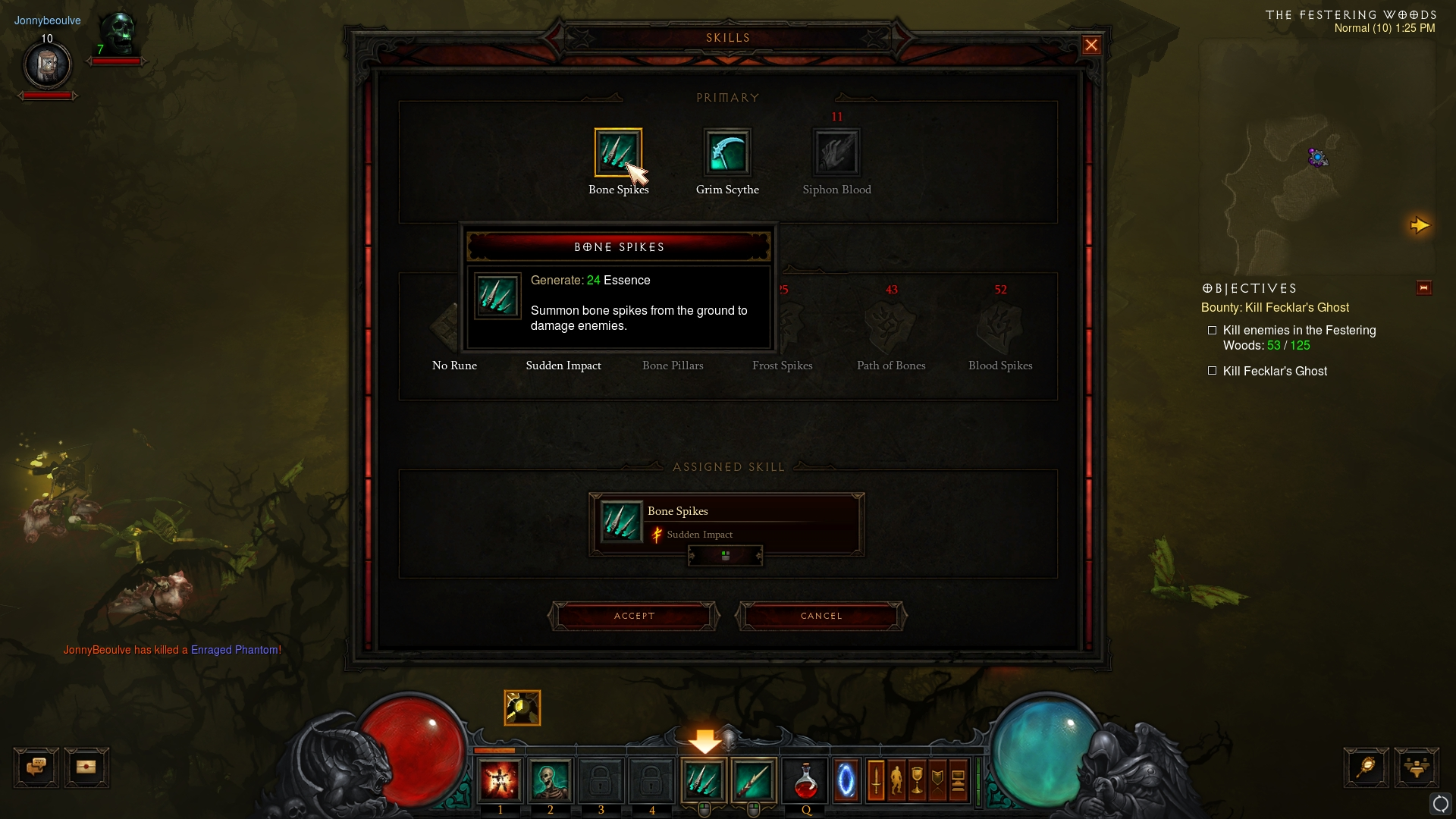 Diablo 3: Necromancer Abilities #1
