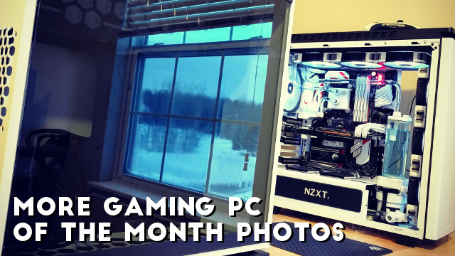 gaming pc of the month wallywest s white zenith gaming build