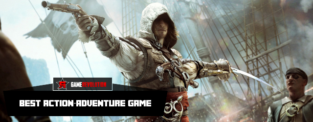 Assassin's Creed IV: Black Flag - Best Action-Adventure Game 2013